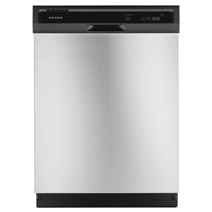 Amana Front Control Dishwasher in Stainless Steel - ADB1300AFS - The Home Depot