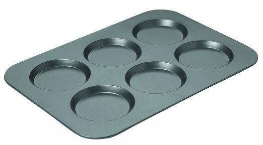 Amazon.com: Chicago Metallic Non-Stick Original Muffin Top Pan: Home & Kitchen Great for making hamburger buns