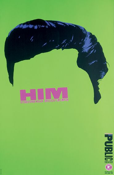 by Paula Scher, who else would it be?great idea of using the hair only as an iconic image