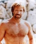 Chuck Norris (He and his son played on my game)