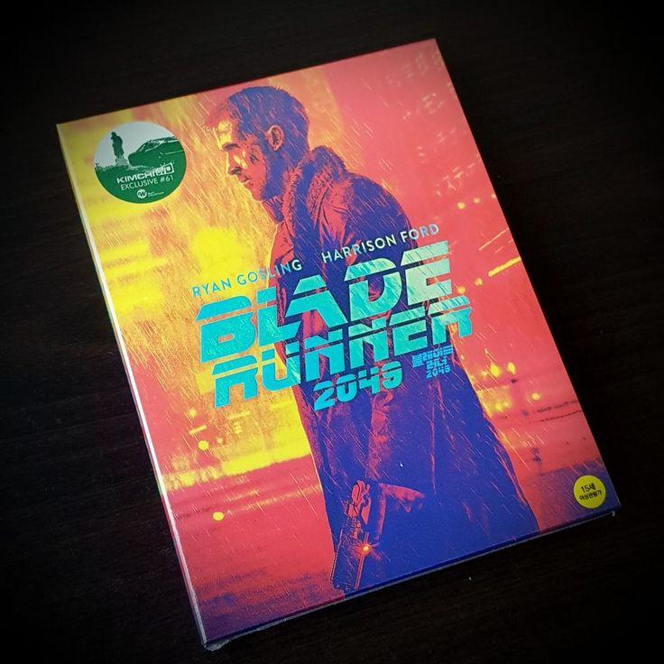 Blade Runner 2049 Kimchi DVD Blu-ray Full Slip Steelbook edition #KimchiDVD