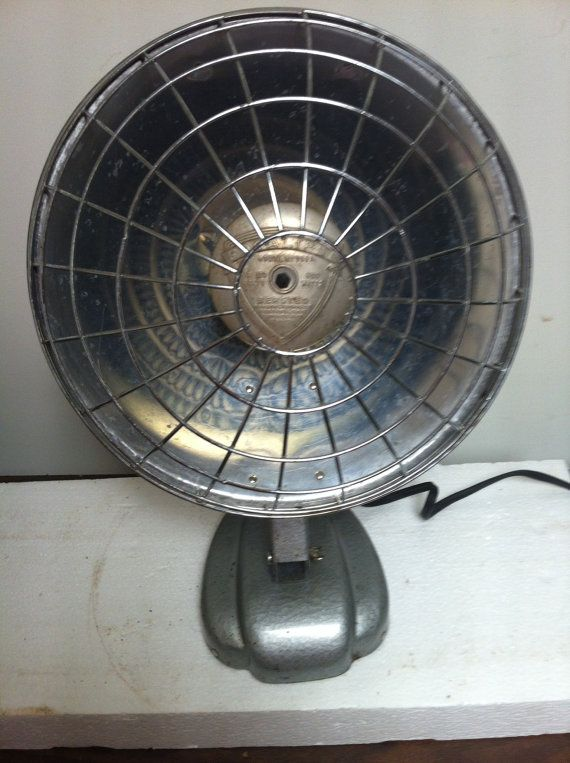 Vintage Bersted Electric Radiant Portable Heater Focalipse