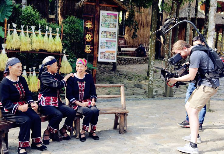 BBC World News came to the Binglanggu Li Miao Cultural Heritage Park to film a #Sanya #tourism documentary.