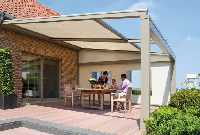 Textil-Sonnenschutzlamelle / Fassade / Vertikal LAGUNE® RENSON