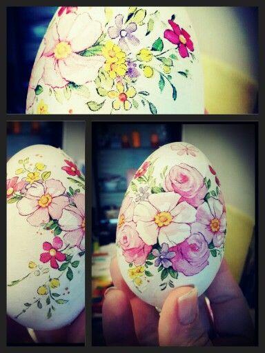 #decoupage #easter #easter egg