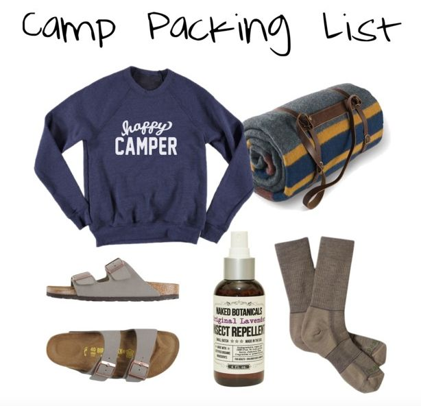 A summer camp packing list. If you are flying internationally add a passport and adaptor, and subtract the sheets, comforter, and...
