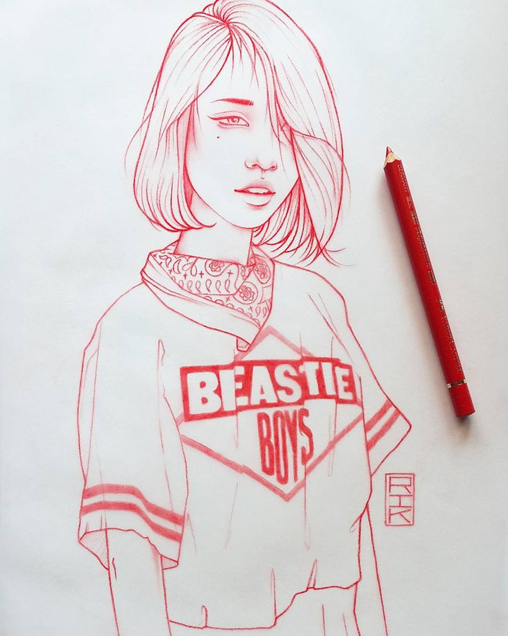 """Japan sketch #2 - No Sleep 'Til Osaka!"" Rik Lee"