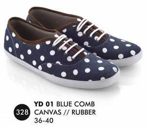 Sepatu Flat Wanita Casual Trendy [YD 001] (Brand Everflow) Free Ongkir