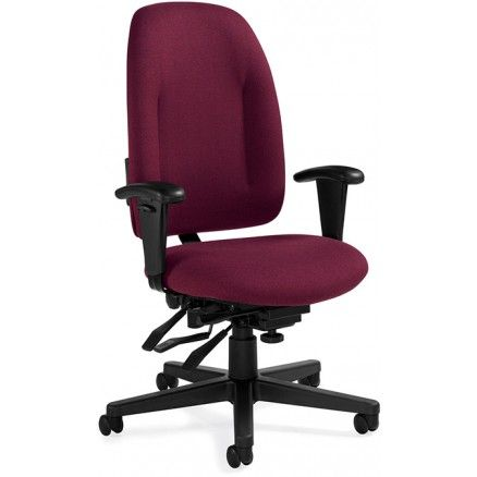 Global Granada Multi Tilter High Back Chair 43 H x 26 W x 23 D  CabernetBlack by Office Depot   OfficeMax91 best Ergonomic chairs images on Pinterest   Barber chair  . Office Depot Purple Chair. Home Design Ideas