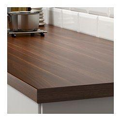 IKEA - SÄLJAN, Maatwerkblad, 63.6-125x3.8 cm, , Gratis 25 jaar garantie. Raadpleeg onze folder voor de garantievoorwaarden.Werkbladen van laminaat zijn zeer slijtvast en onderhoudsvriendelijk. Als je er wat zorg aan besteedt, blijven ze er jarenlang als nieuw uitzien.Alle laminaatkleuren kunnen worden besteld met een afgeronde of een rechte kantlijst in dezelfde kleur. Je kan ook contrasten creëren door een kantlijst te kiezen in een ander patroon of materiaal.Het werkblad wordt op maat…