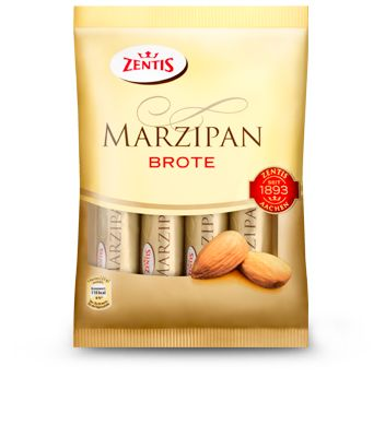 -in USA- Zentis Marzipan Loaves - 100 g