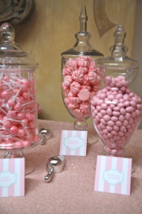 Pink Parisian Baby Shower - Inspired By This
