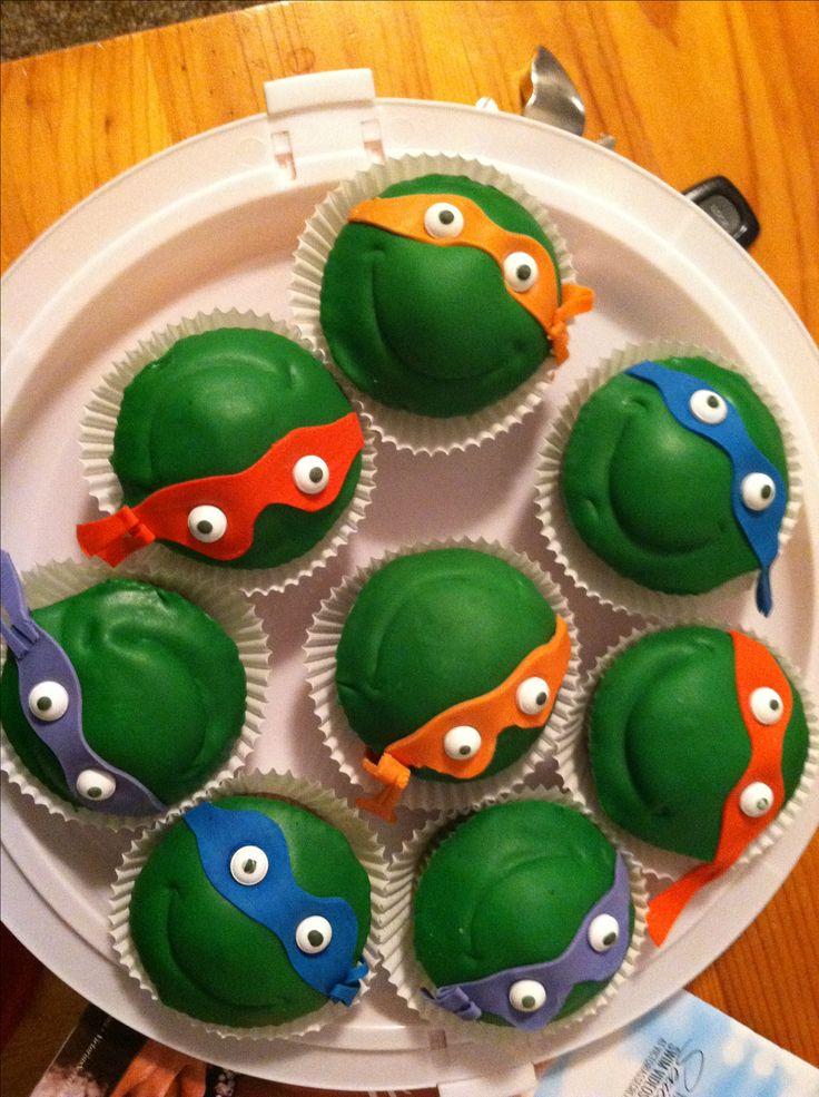 Ninja Turtles Cupcakes Kid Cupcakes Ninja Turtle