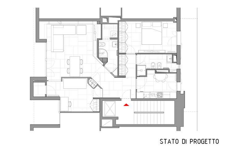 17 migliori idee su planimetrie dell 39 appartamento su for Planimetrie dell appartamento seminterrato