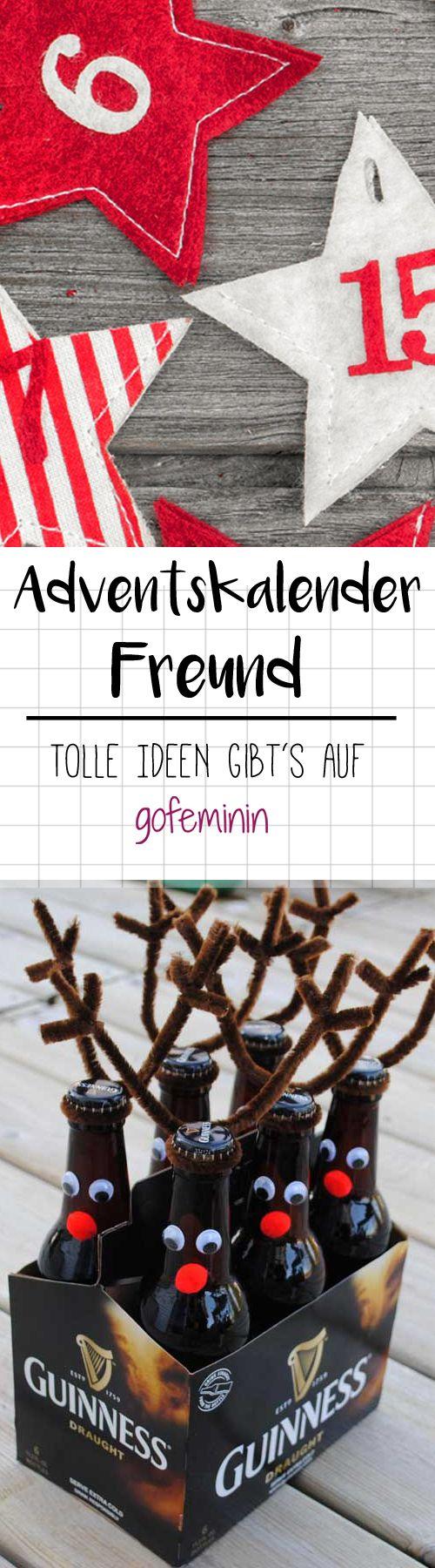 Kreative Adventskalender-Ideen für den Freund gesucht? Wir hätten da so einige auf Lager!