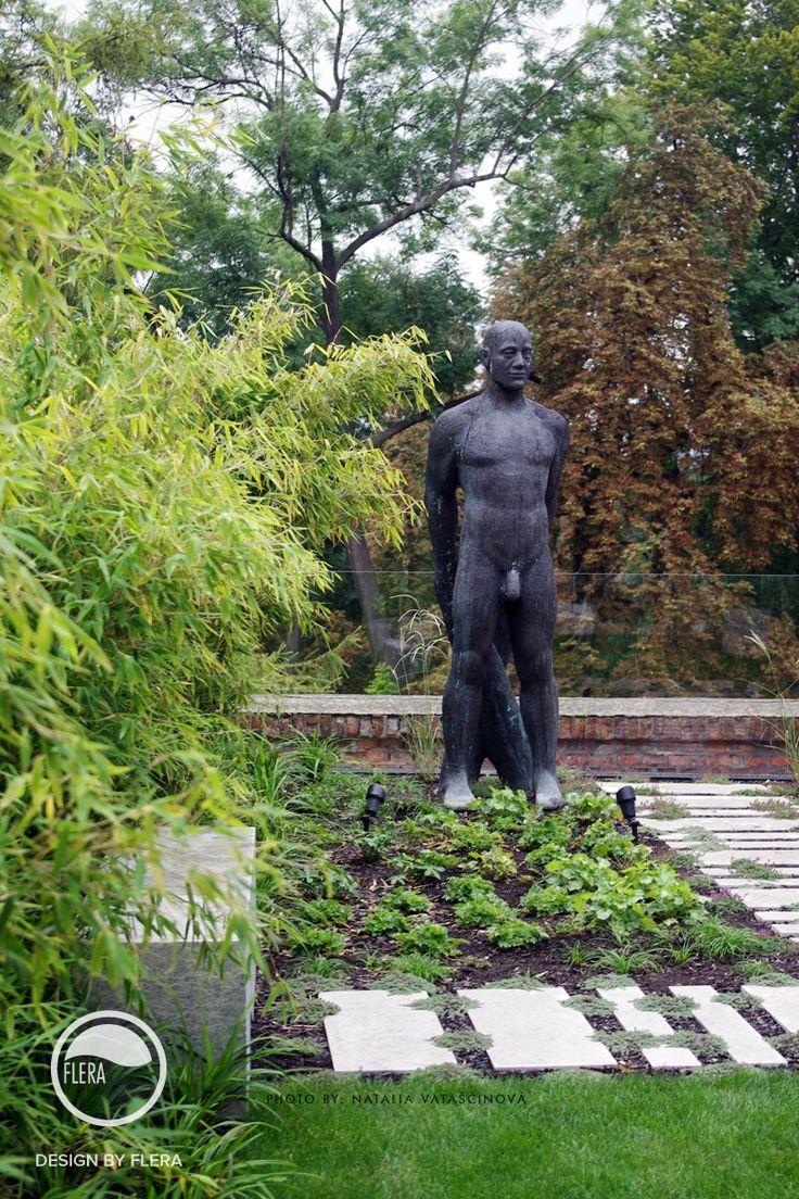 #landcape #architecture #garden #sculpture #path