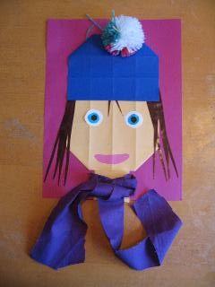 Juf Sanne Lesidee: kind met muts en sjaal