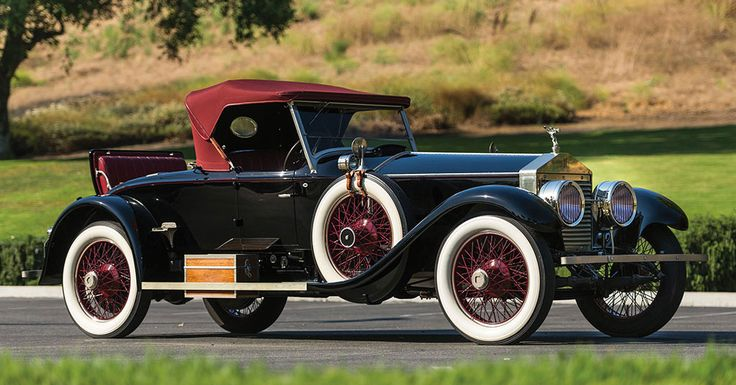 "Lightweight sporting bodies for the American ""Springfield"" Rolls-Royce Silver Ghost were rare indeed, but they did exist, most prominently the Piccadilly Roadster, provided by Massachusetts bodymaker Merrimac. One hundred and five examples of the Piccadilly were produced for the Silver Ghost; relatively few of these were used on new chassis, making ""original coachwork"" Piccadillys highly desirable."
