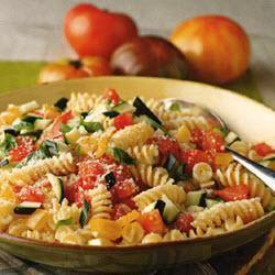 Pasta with No-Cook Vegetable Sauce @ allrecipes.com.au