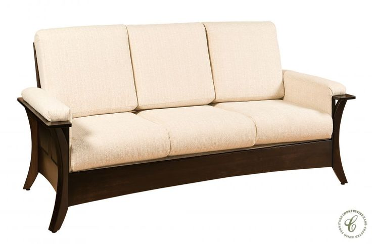 Rockefeller Amish Shaker Sofa Shaker Style Living Rooms And Shaker Style Furniture