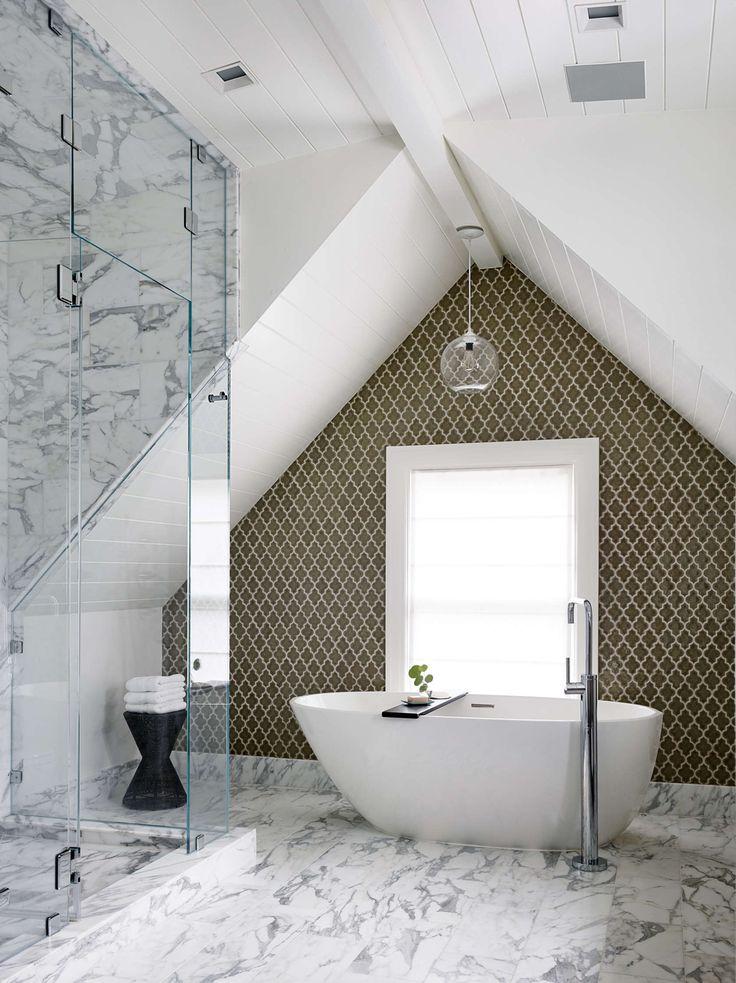 21 best bathroom lighting images on pinterest bathroom lighting our crystal solitaire pendant light modernizes this victorian era homes master bath http aloadofball Images