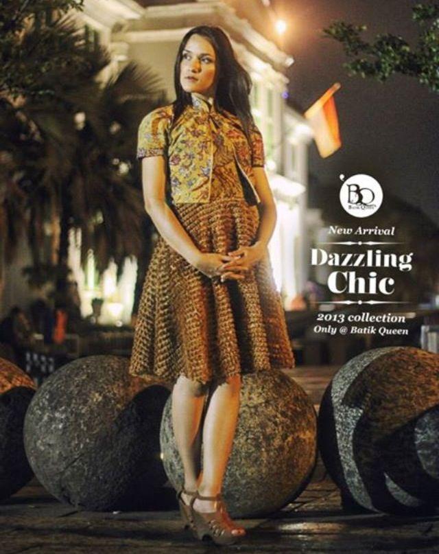 Batik Queen's dress collections