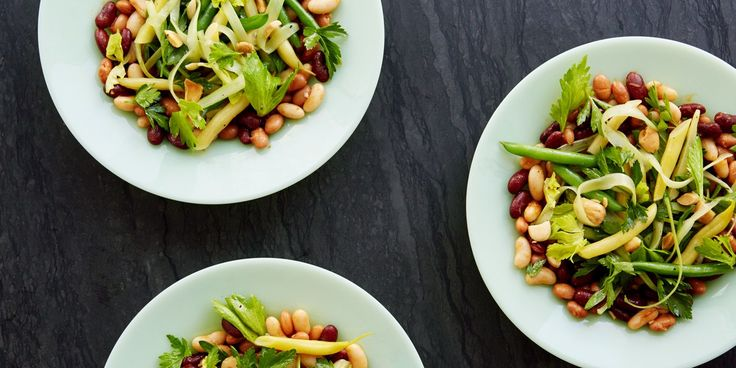 This upgraded version of a classic bean salad features the rich Spanish flavors of smoked paprika and marcona almonds, balanced by the bright freshness of parsley and celery.