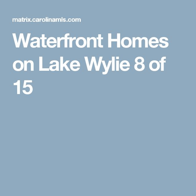 Waterfront Homes on Lake Wylie  8 of 15