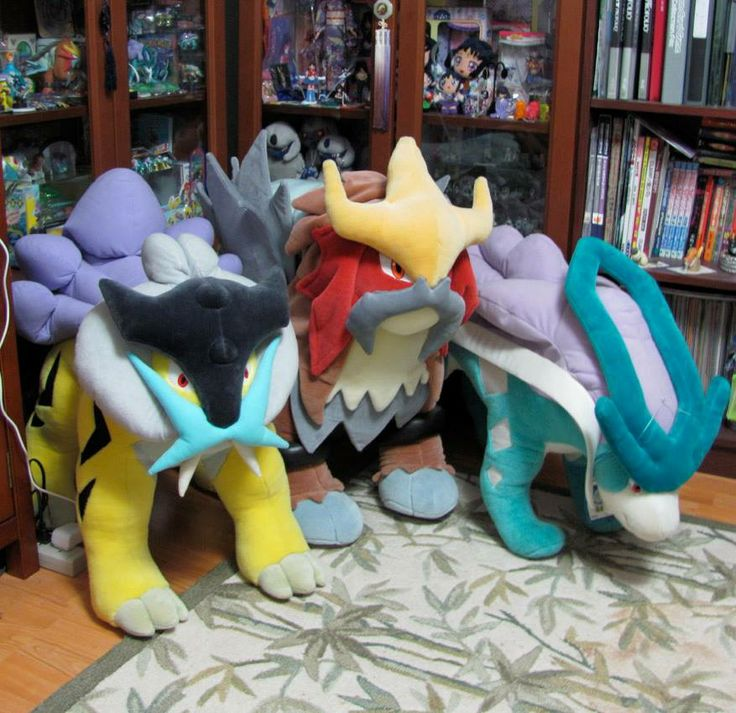 Pokemon Plush! I HAVE to have these!