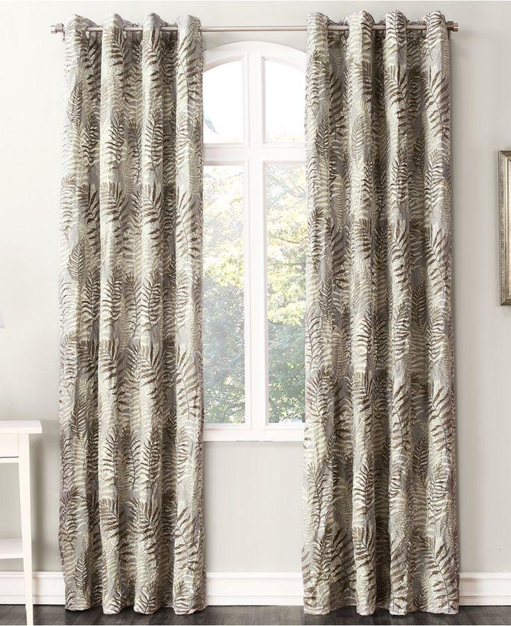 "Lichtenberg No. 918 Alma 50'' x 84"" Curtain Panel - - Macy's"