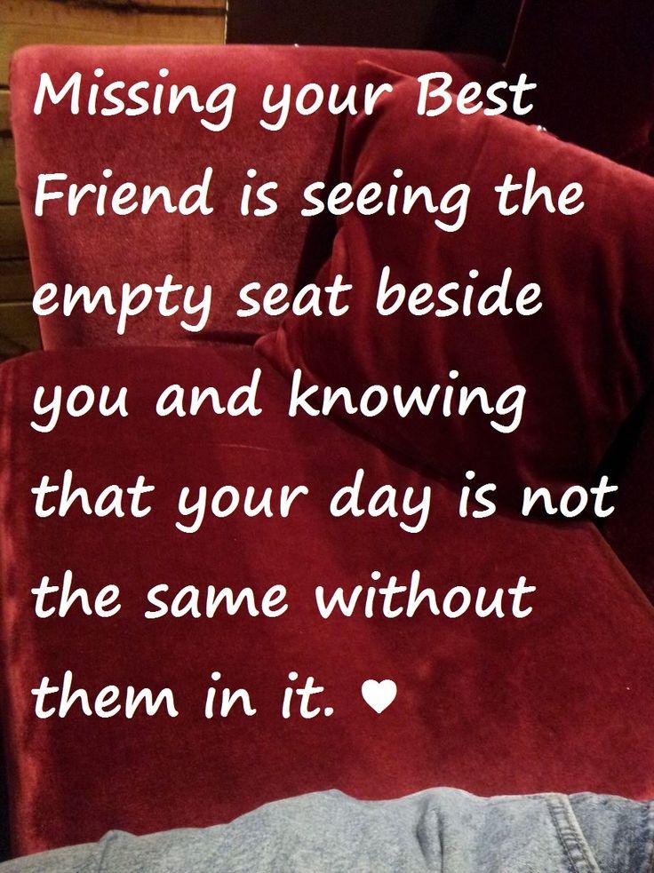 Missing Best Friend Quotes | Best Friend Quotes