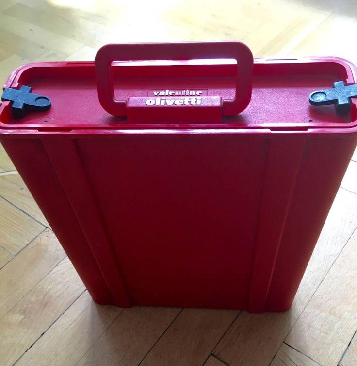 Ettore Sottsass, Reiseschreibmaschine Olivetti Valentine - Olivetti Valentine - Design Kult-Schreibmaschine,…