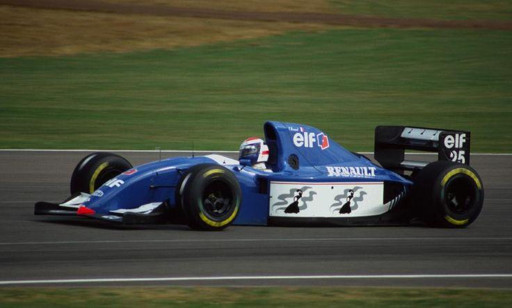 1994 Ligier Gitanes JS39B - Renault Eric Bernard