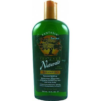 Fantasia NATURALS Tea Tree SHAMPOO - 12oz bottle