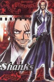 shanks le roux one piece the red hair anime wallpaper