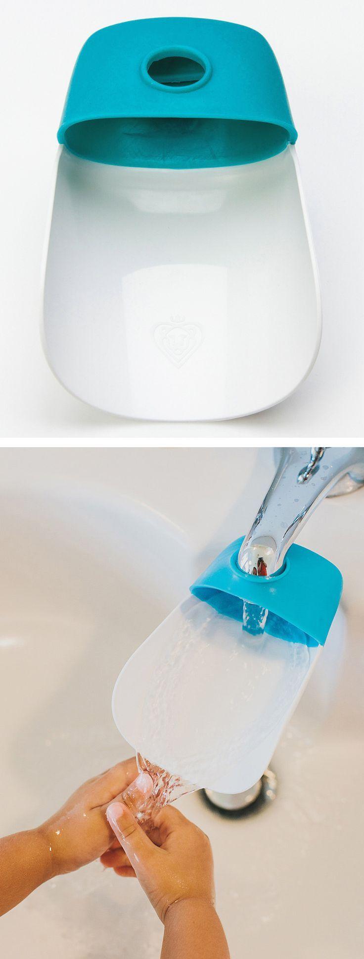 Universal Faucet Extender For Little Hands // SO cUte!
