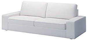 Ikea Kivik Sofa Bed Cover Replacement. This Ikea Sofa Bed Cover Is for Ikea Kivik Cover Only. Sofa Bed Is Not Included, Only Ikea Sofa Cover (Ikea Slipcover). (White)