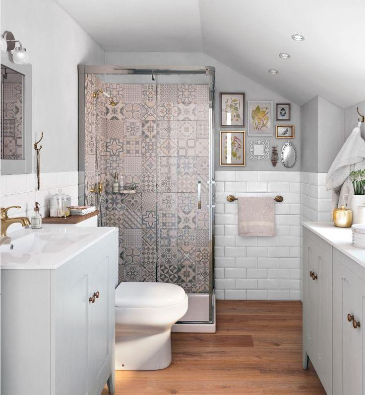 Si tienes una buhardilla, no renuncies a un baño, puedes lugar un entorno confortable aprovechando bien los espacios - Leroy Merlin