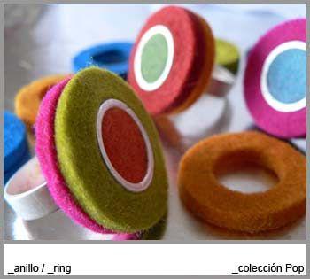 felt ring by Original Barcelona Objects OBOOBO