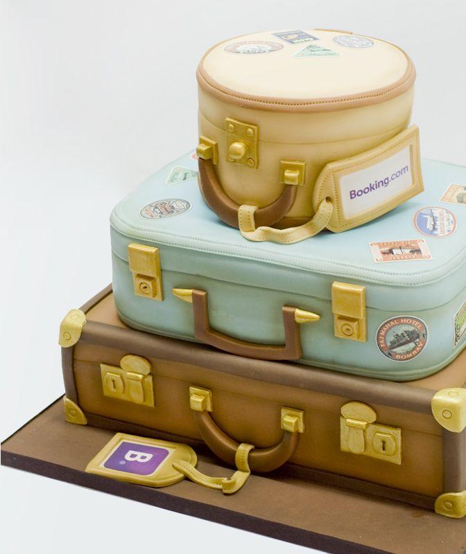 Booking Cake Pastel maletas                                                                                                                                                      Más