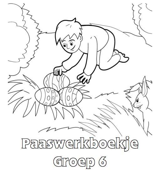 Paaswerkboekje Groep 6