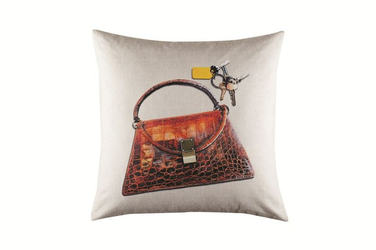 Hand Bag Cushion by Kas - Tree House Edition from Harvey Norman NewZealand