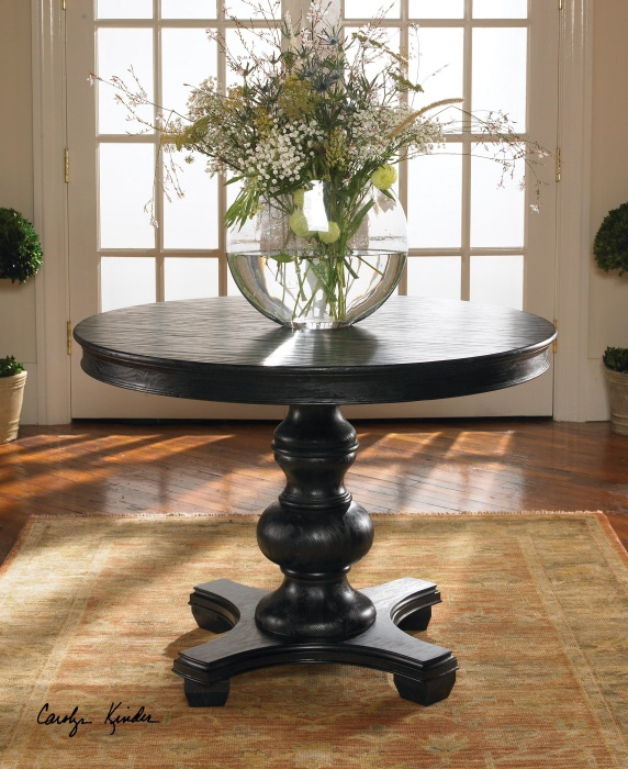 find this pin and more on foyer table with round foyer table - Foyer Round Tables