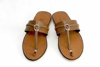 Sandal Kulit MAHER Tasikmalaya: Terumpah Laki-laki kode SL 05