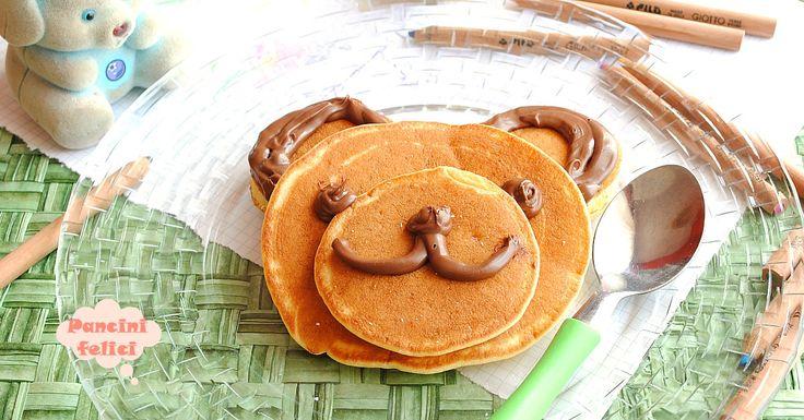 Un orsetto tra i pancake