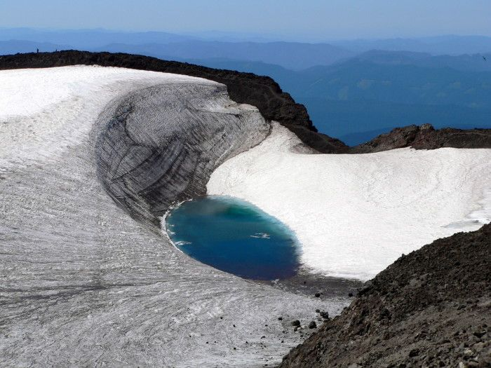 12. Teardrop Lake, at the summit of South Sister