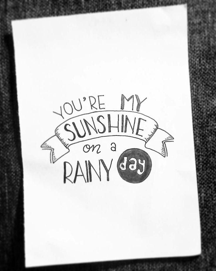 You're my sunshine on a rainy day – Lisa Scroggins