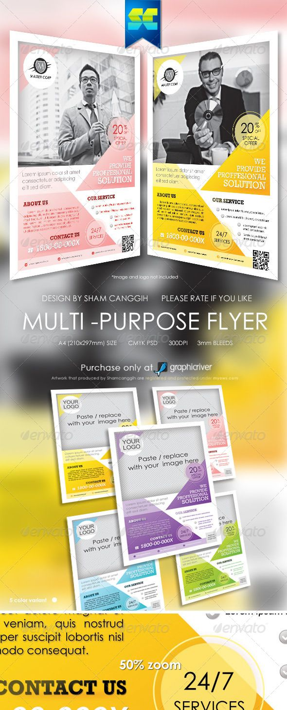best images about brochure design business flyer clean multi purpose corporate flyers