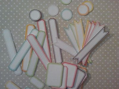Fabulous free printable labels for scrapbooking/crafts