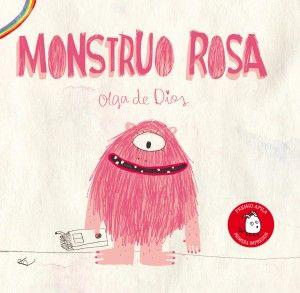 M de MONSTRUO ROSA. Monstruo Rosa es un cuento sobre el valor de la diferencia. Una historia para entender la diversidad como elemento enriquecedor de nuestra sociedad, Monstruo Rosa es un grito de libertad.